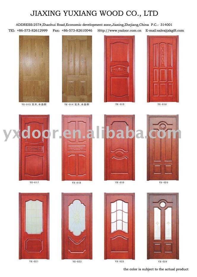 Puerta de madera yx puertas para proyecto puertas for Costo de puertas de madera para interiores