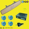 Buzzer Video Parking Sensor with 2.5'TFT & Night Vision Camera