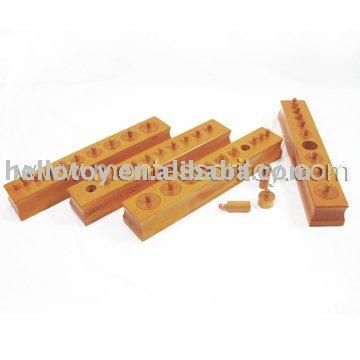 لعب ماريا مونتيسوري Wooden_Toys_Montessori_Toys_Knobbed_Cylinders_Set_of_4_beechwood_ATS0044_