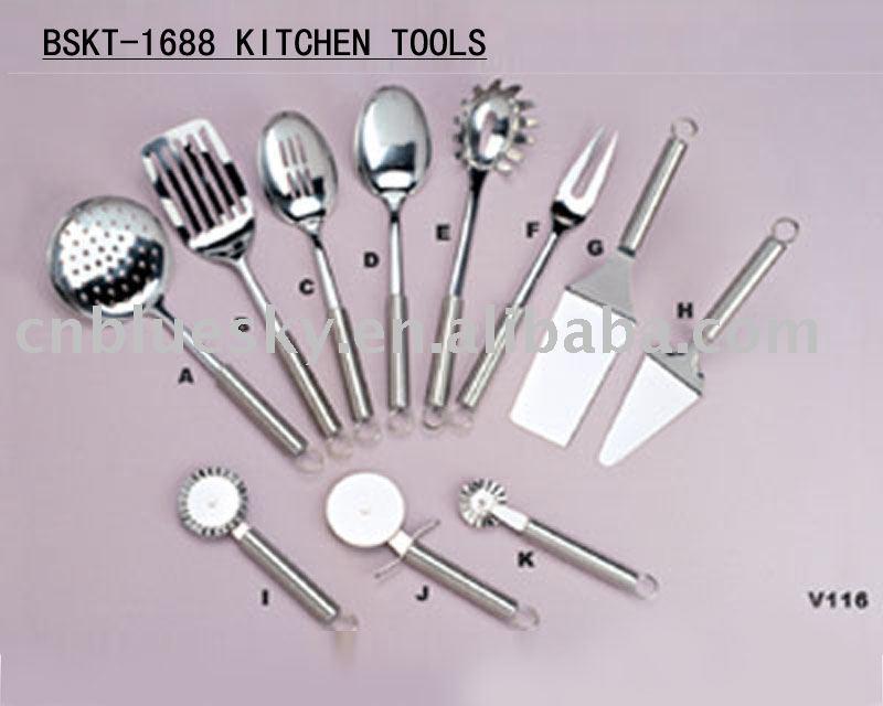 Bskt 1688 de acero inoxidable utensilios de cocina - Utensilios de cocina industrial ...