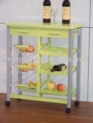 carrello da cucinain legno di pino-Mobili per Cucina-Id prodotto ...