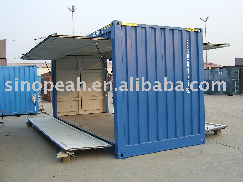 Porta de balanço de contêineres de transporte 20ft-Conteiner-ID do ...