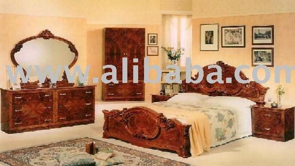 Ensemble de chambre coucher de mod le de noix de barocco for Exemple de chambre a coucher