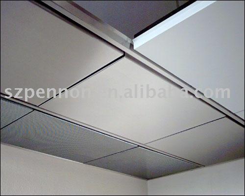 aluminium dalle de plafond m tal plafond panneau clip. Black Bedroom Furniture Sets. Home Design Ideas