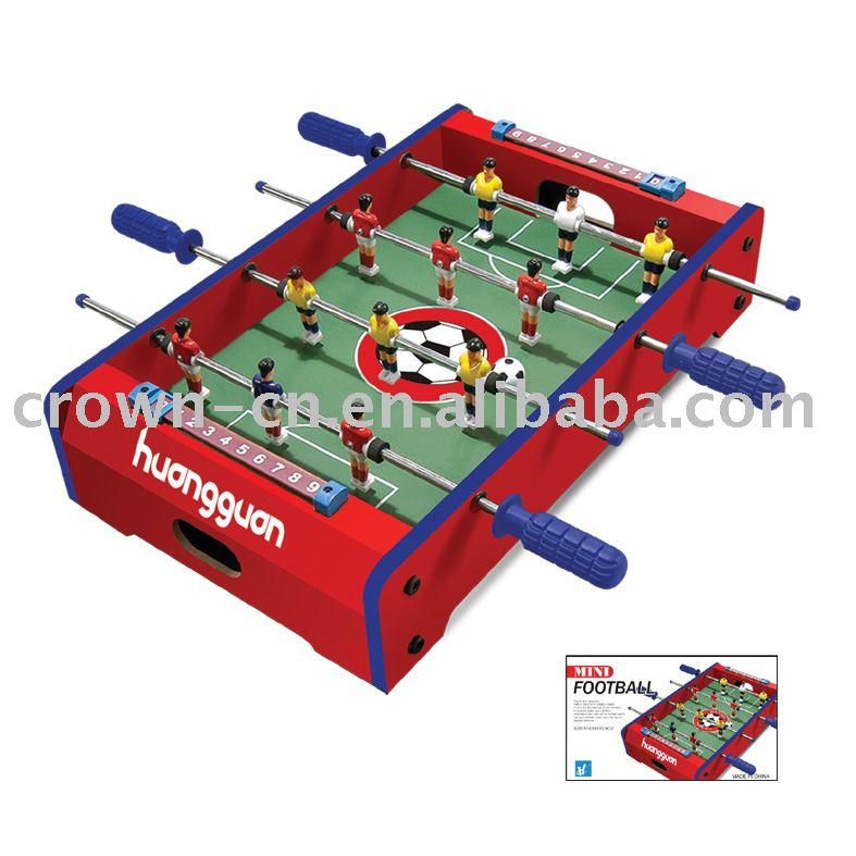 لعبة كرة القدم الجدول، مصغرة فووسبالل