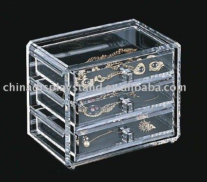 Acrylic Jewelry Display Acrylic Jewelry Drawer Acrylic Jewelry ...