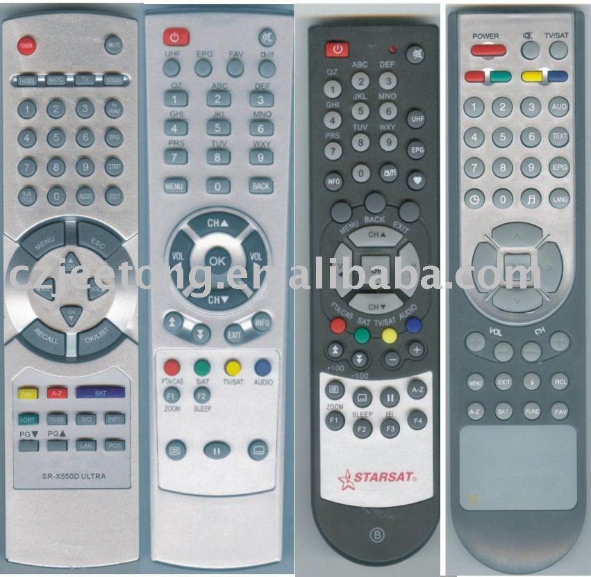 Remote Control for STAR SAT (190, 150, 190D, SR-X550D)