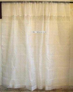 Blanco organza cortinas cortinas identificaci n del for Cortinas de castorama pura