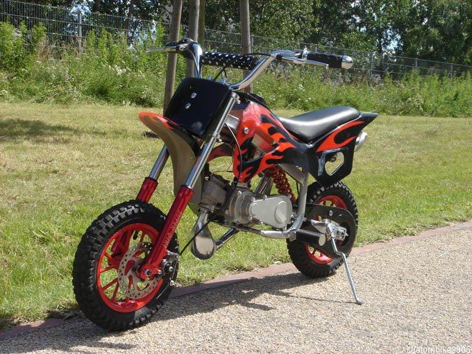 Pocket Dirt Bike Db M on 50cc Pocket Bike Frame