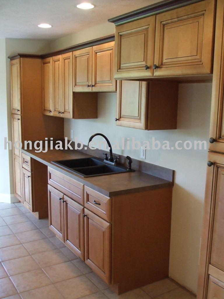 bois massif meubles de cuisine armoire de cuisine id du produit 230082727. Black Bedroom Furniture Sets. Home Design Ideas