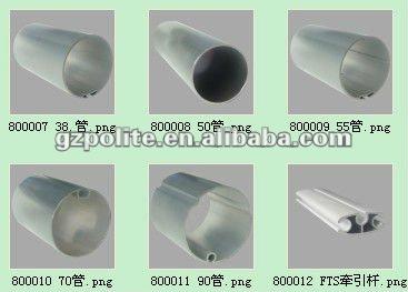 F brica tubo de alum nio com ranhura para a cortina for Tubos de aluminio para toldos