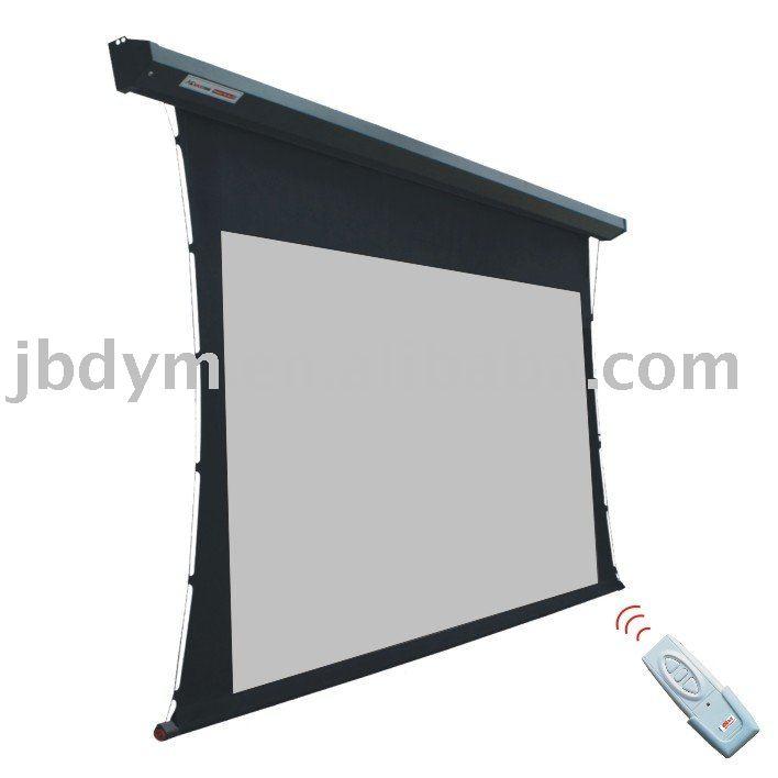 El ctrico de la pantalla de proyecci n de pantalla for Motorized floor up screen