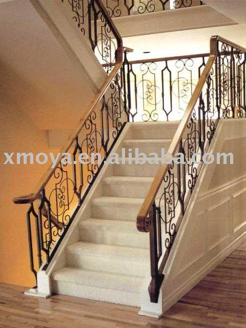Pasamanos de madera interior la escalera pictures - Pasamanos de escalera ...