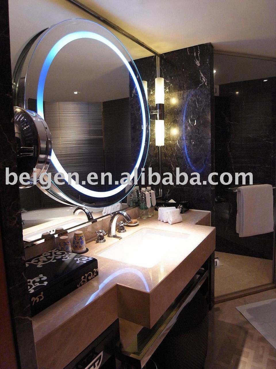 Bathroom Illuminated Mirror Hotel Bath