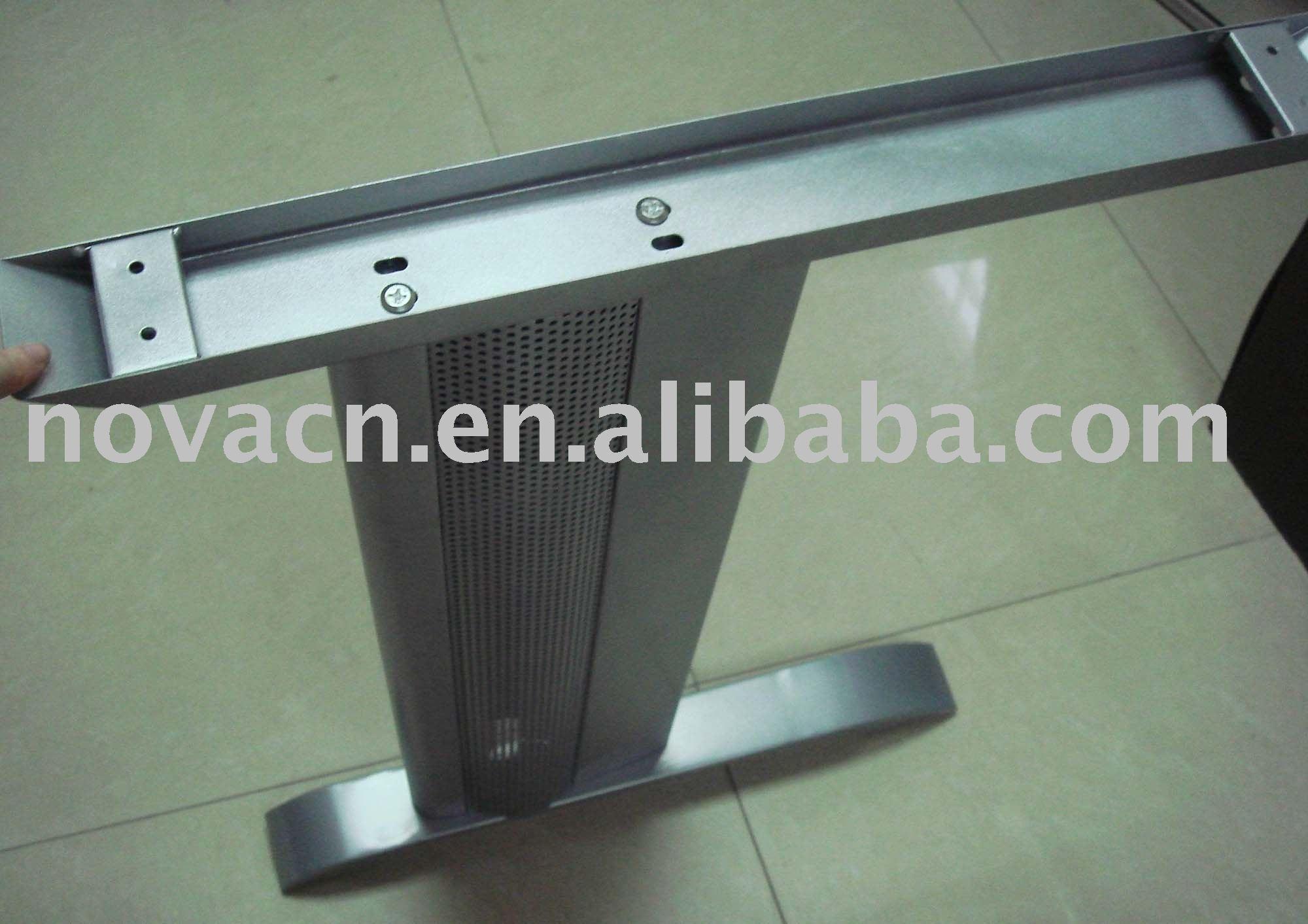 Metall tischbeine edelstahl tischbein b ro stahl for Metall tischbeine