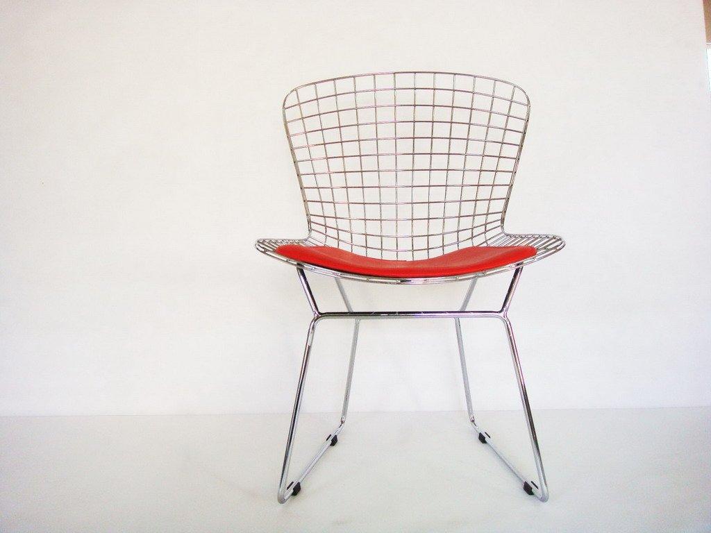 Chaise bertoia fil chaises de salon id du produit for Bertoia chaise prix