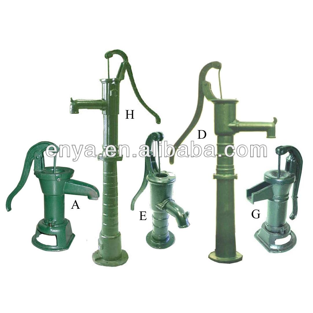 Pompe main accessoires de arrosage de jardin de fer de for Accessoires arrosage jardin