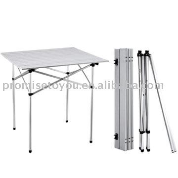 Mesa plegable de aluminio mesa plegable identificaci n del for Mesa plegable aluminio