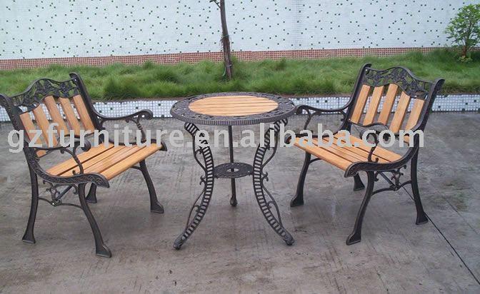 banco de jardim em ferro fundido : banco de jardim em ferro fundido:banco de jardim, ferro fundido park bench, cadeira de jardim, móveis