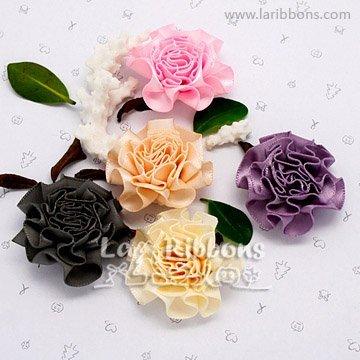 Mundo Bizcocho: Como hacer rosas con pistilos y flores de