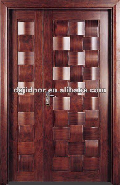 madera maciza casa puertas de entrada de dise o dj s8505so