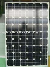 módulo solar cristalino da pilha voltaica da foto do painel solar de 100w picovolt mono