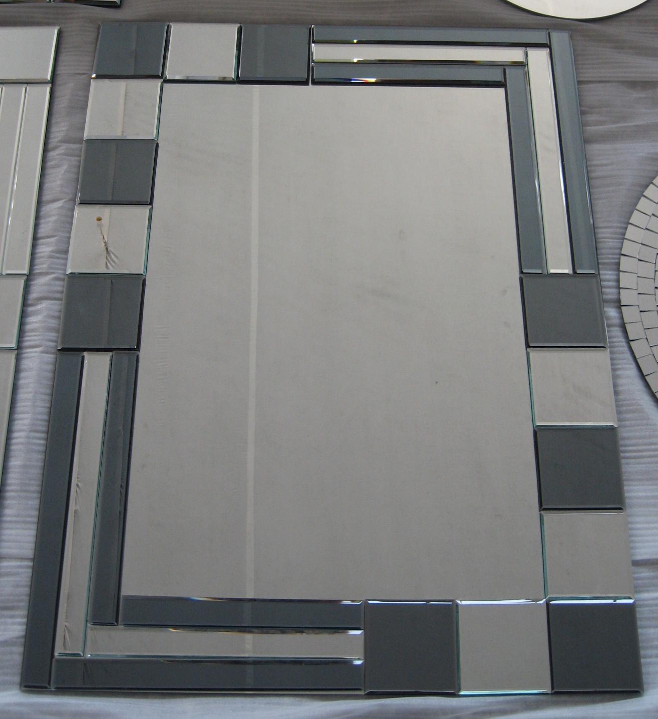 Gran cristal biselado espejo de pared otros muebles de - Espejos grandes de pared ...