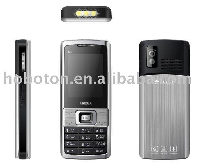 EIROGA M1 build in battery mobile phone