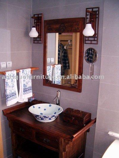 Muebles De Baño Antiguos:de cuarto de baño, chino muebles antiguos reproducción-Cuarto de