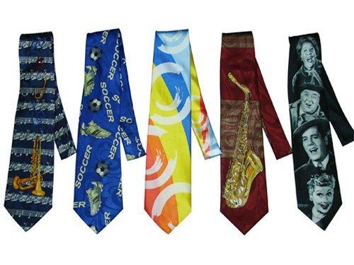 Moda corbata estrecha/corbata de dibujos animados - spanish.