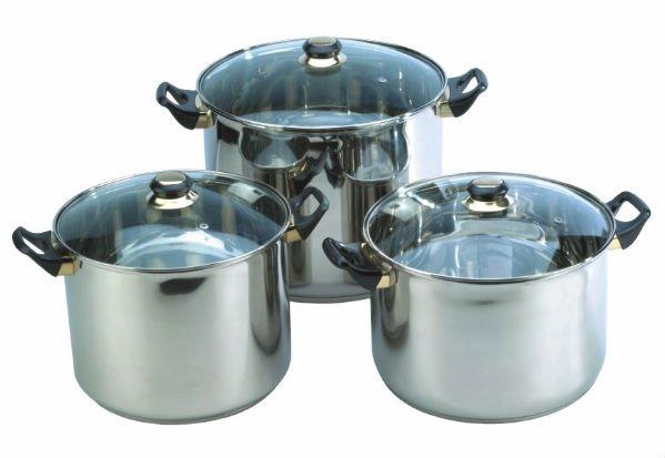 6 pcs utensilios de cocina conjunto bateria juego de de for Aparatos de cocina