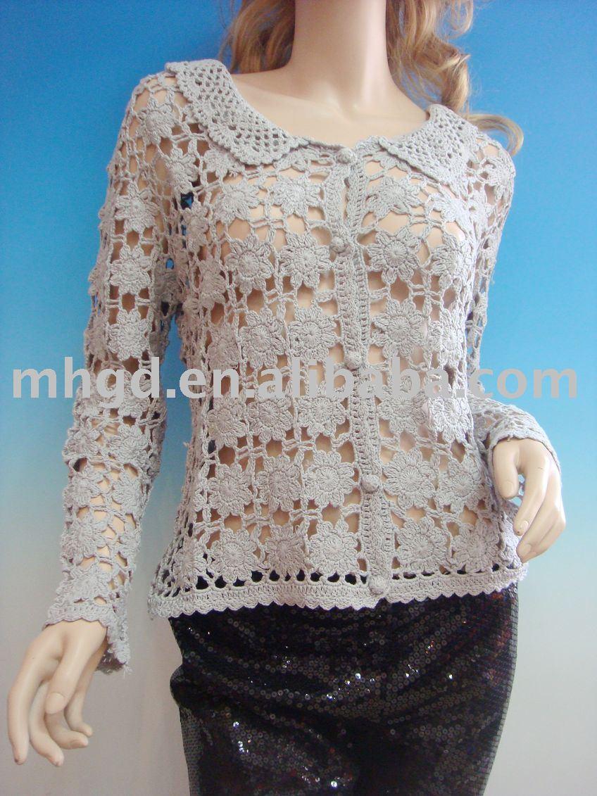 Blusas tejidas crochet primavera verano vestimenta images for Gancho de ropa en ingles