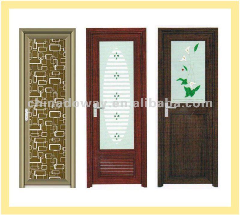 Puertas De Aluminio Blanco Para Baño:Interior de la puerta de aluminio nuevo diseño-Puertas