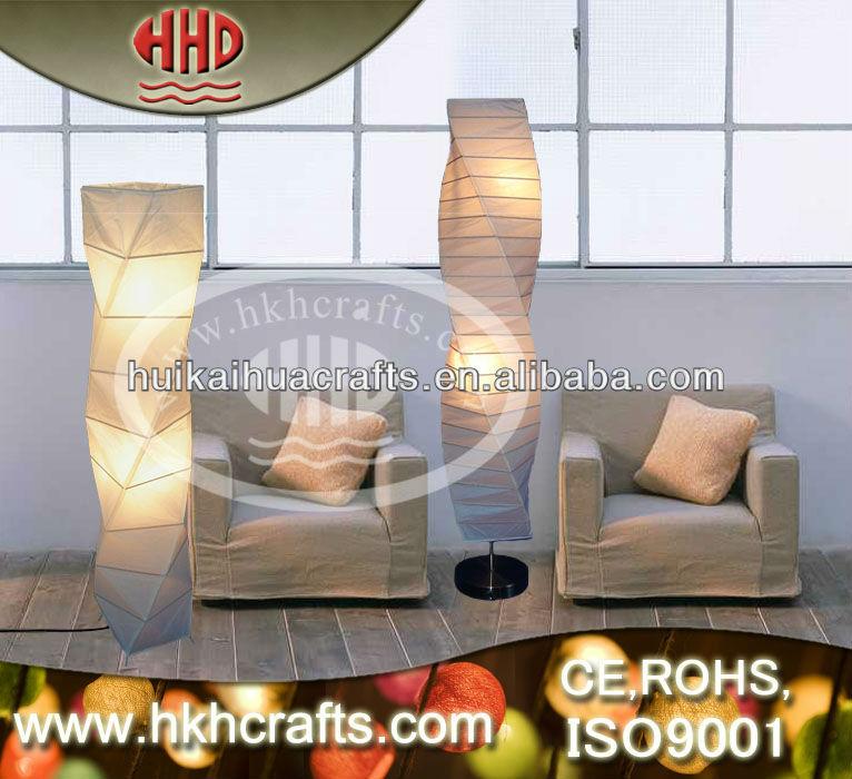 Moderne zuhause dekorationsartikel papier stehleuchte for Moderne dekorationsartikel