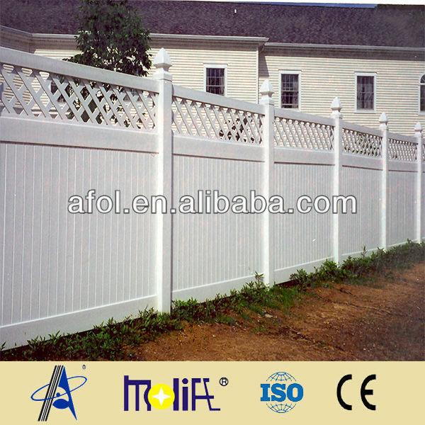 Zhejiang afol privacy recinzioni di sicurezza in plastica da giardino in pvc recinzioni - Recinzioni privacy giardino ...