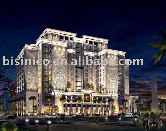 3d design exterior e interior 3d renderiza o for Hotel interior and exterior design