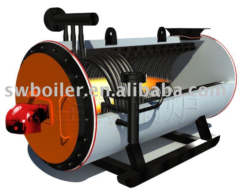 Luz diesel horno de aceite t rmico de la caldera aceite - Calentadores de aceite ...
