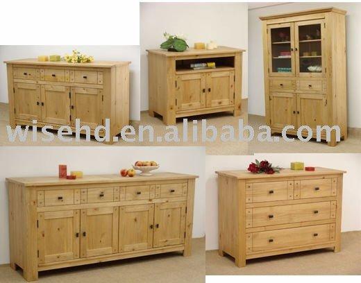 W l w0445 in legno di quercia mobili soggiorno for Mobili in quercia