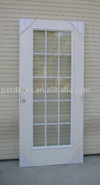Patio de metal cristal puertas met licas puerta for Puertas metal y vidrio modernas