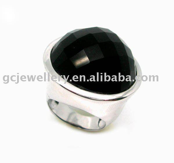 Аукционы Лот - кольцо мужское черный