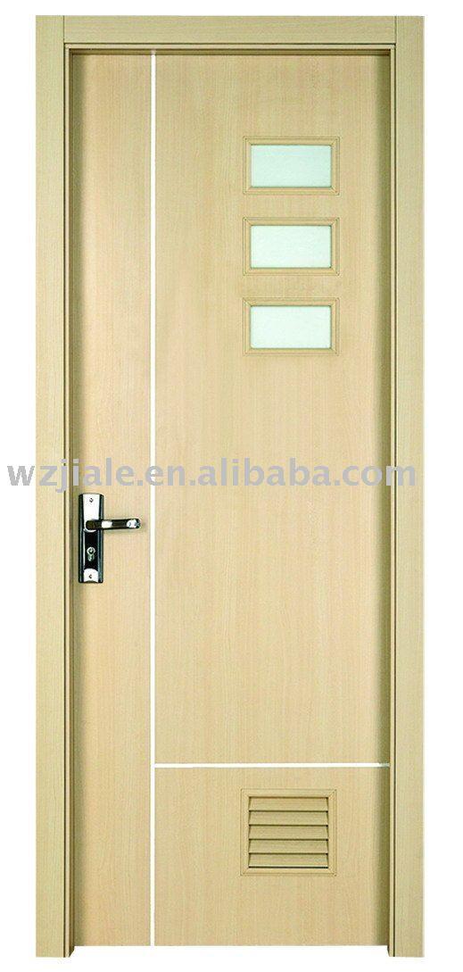 Puertas para ba o en madera for Modelos de puertas de bano de madera