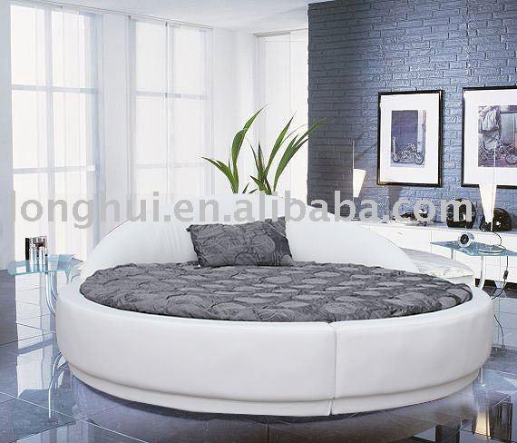 Круглая кровать Ikea