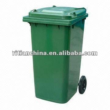 Ext rieur 120l poubelle poubelle poubelle id du produit for Grande poubelle exterieur