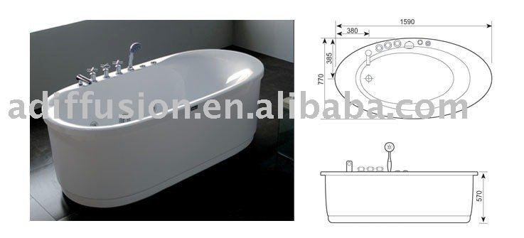 Dimensioni vasca da bagno piccola termosifoni in ghisa - Vasca da bagno piccola misure ...