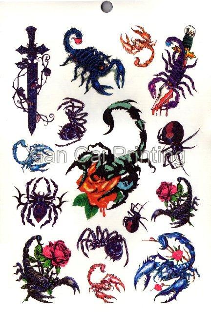 Tatuaje del escorpi n Ver imagen m s grande