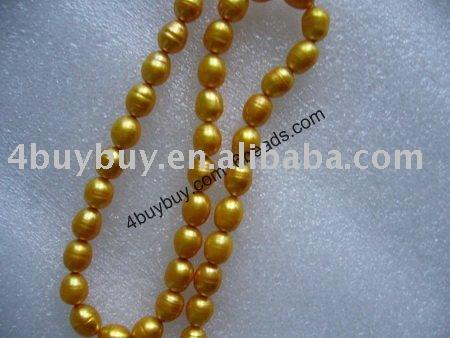 اكسيسوارات بحبات الالء Dyed_pearl_beads