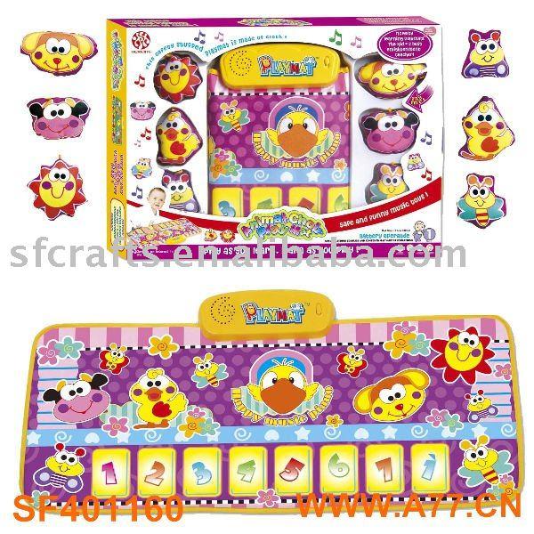 Bebé musical juego de alfombras, juguetes para bebés - spanish.