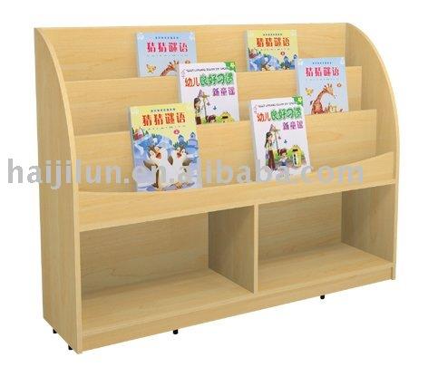 Preescolar mueble biblioteca estante para libros otros for Muebles para preescolar