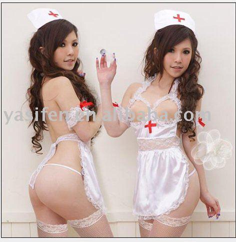 Traje atractivo de la enfermera de la venta caliente 2010