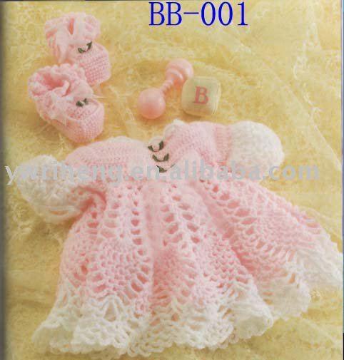 Crochet vestido de bebé - Imagui